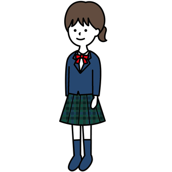 Uniform girl