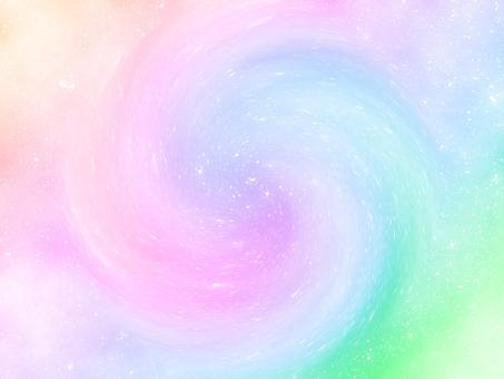 Rainbow color swirl background