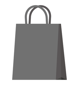 Paper bag (black)