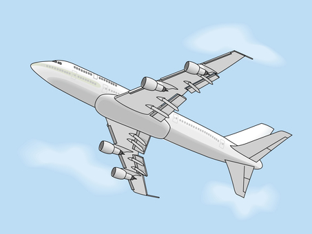 Passenger plane 8