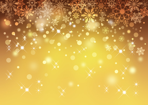 Snow crystal _ Illumination _ Background