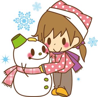 Girls * Snowmen
