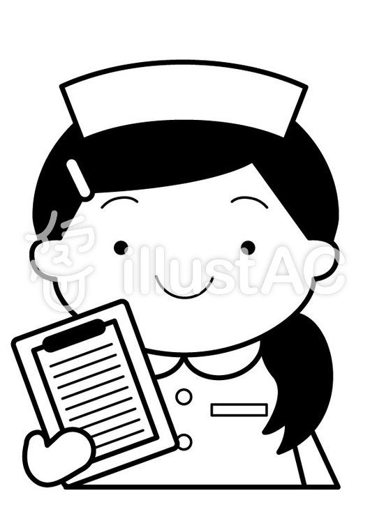 看護師1cのイラスト