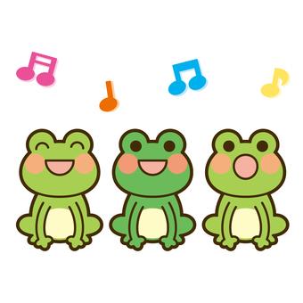 개구리의 합창