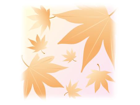 Autumn illustration material 01
