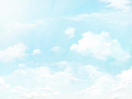 밝은 하늘