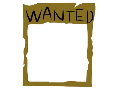 WANTED frame