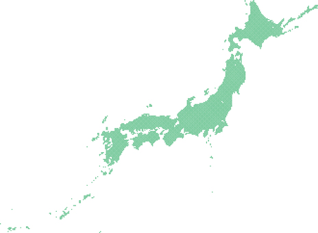 Dot Japan Map c