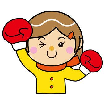 Girl 27_04 (boxing)