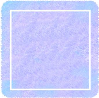 Watercolor frame Quadrangle purple