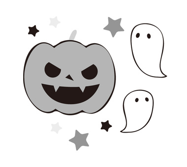Halloween monochrome ver.
