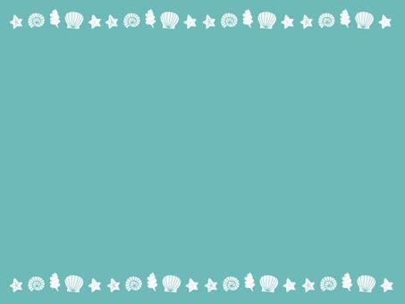 Seashell frame ver 01