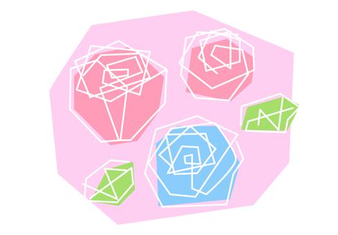 Rose motif
