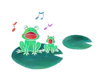 개구리의 부모와 자식의 합창 01