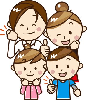 4 people family _A08