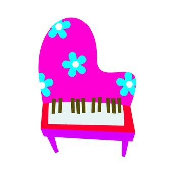 Piano · floral design
