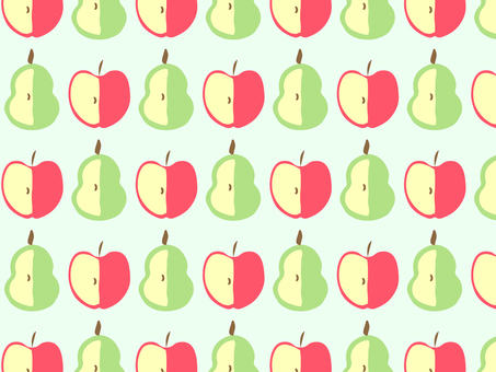 Pear and apple pattern