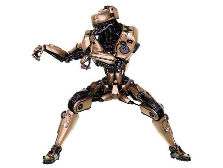 カンフーロボット