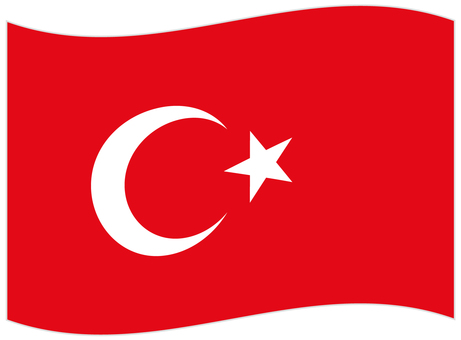 National flag _ Turkey