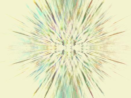 光線(白)