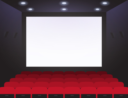Movie Theater _ Red