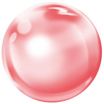 Moisturizing red ball