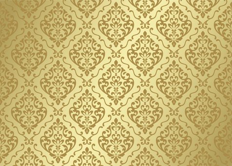 Damask pattern European background