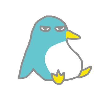 Sitting penguin