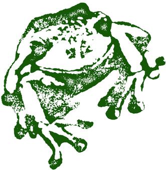 Stamp (frog) 02
