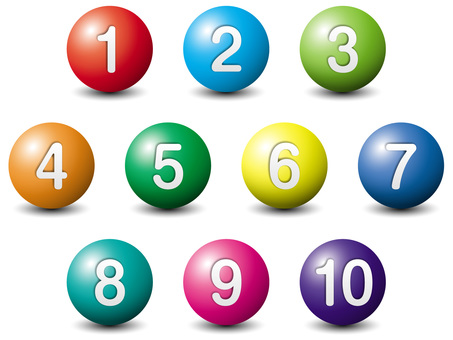 Number / Number Ball Ball Solid