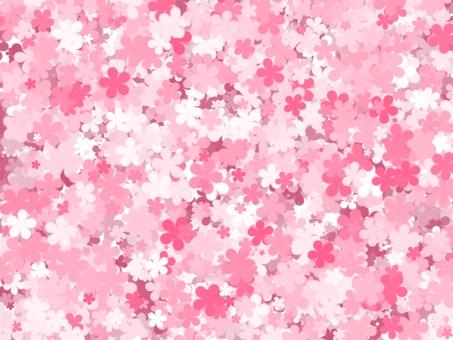 Flower background (peach)
