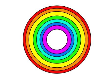 Wheel rainbow