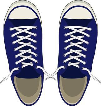 Sneakers navy blue