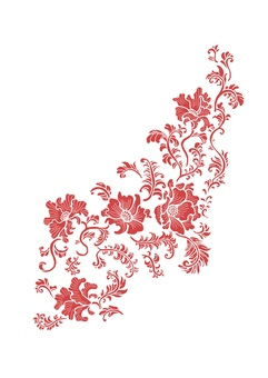 Chinese Pattern Floral Pattern