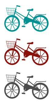 3 kinds of bicycles