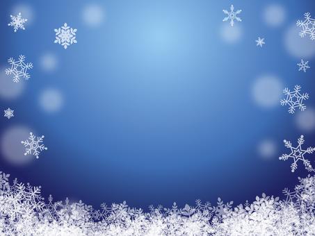 Winter image 001 Blue