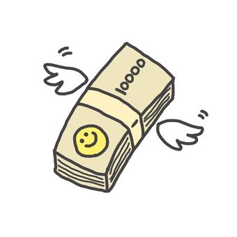Money 10000 bills