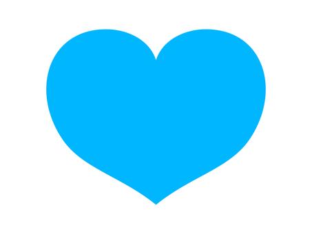 Heart 02 blue