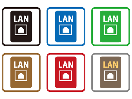LAN outlet icon