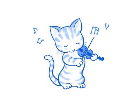 バイオリンねこ42