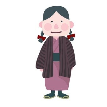Meiji era girl