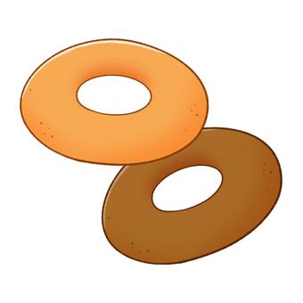 도넛 (단순 초코)