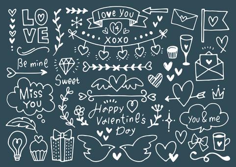 valentine doodle