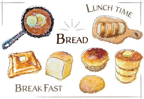 パン屋 カフェ パンケーキ 朝食 ランチ