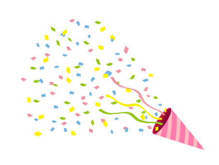Confetti (cracker · pink · right)