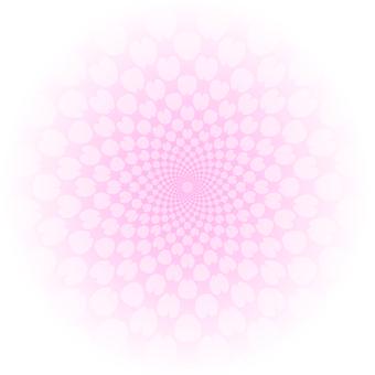 Background circle (pink)