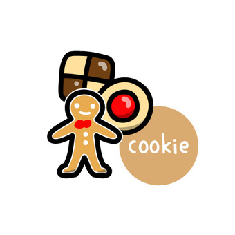 Cookie圖標圖