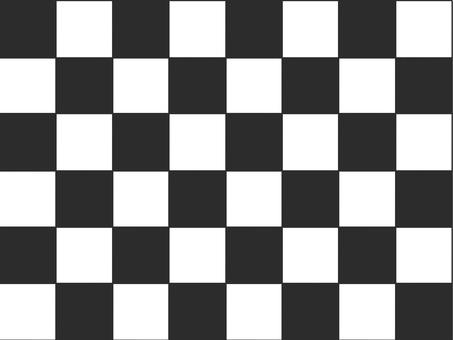 Checkered mosaic