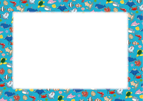 A collection of sea creatures! Stationery 03