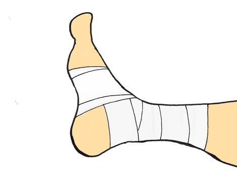 Bandage ankle